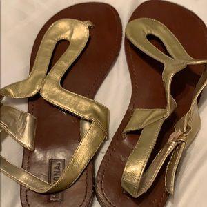 Gold Medina Sandals
